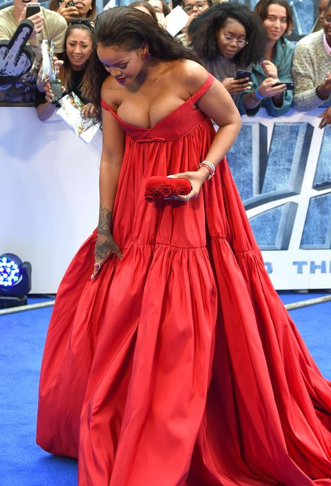 Dress, Shoulder, Red, Style, Gown, Flooring, Fashion accessory, Youth, Fashion, Logo,