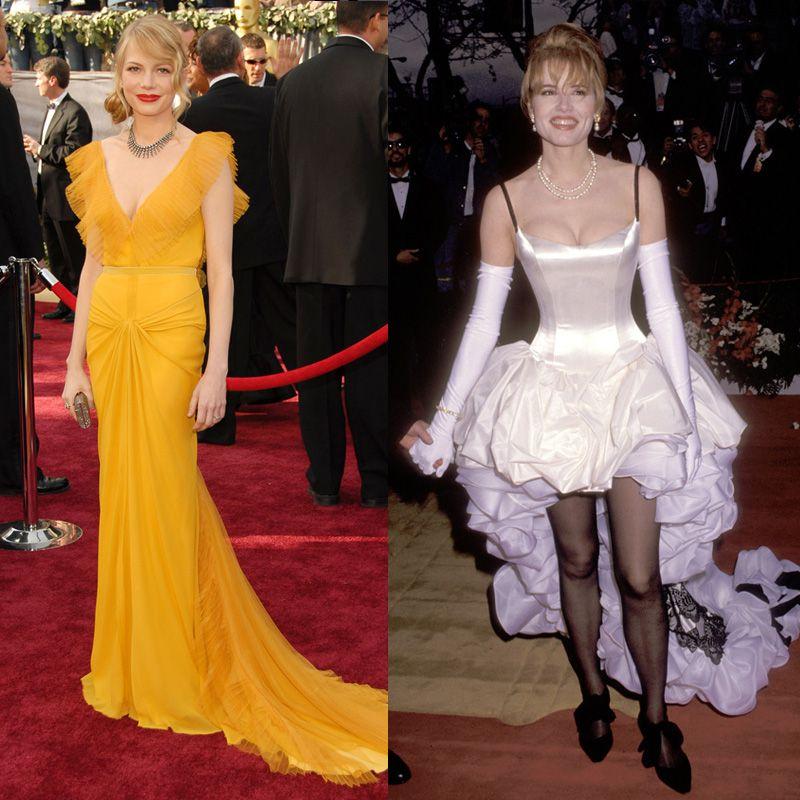 Oscar: 50 vestidos inolvidables para bien y para mal
