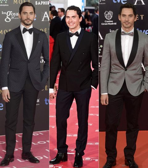 Clothing, Coat, Collar, Trousers, Dress shirt, Shirt, Red, Suit, Outerwear, Formal wear,