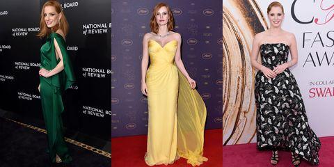 Clothing, Dress, Yellow, Flooring, Shoulder, Formal wear, Style, Waist, Carpet, One-piece garment,