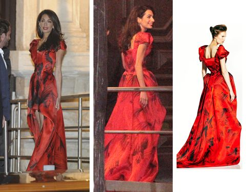 Clothing, Sleeve, Dress, Red, Formal wear, One-piece garment, Style, Gown, Waist, Costume design,