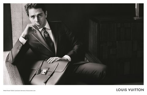 Collar, Dress shirt, Photograph, Outerwear, Formal wear, Style, Sitting, Suit, Coat, Suit trousers,