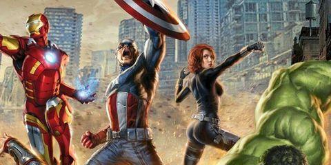 Fictional character, Hulk, Superhero, Cartoon, Avengers, Hero, Fiction, Animation, Illustration, Armour,