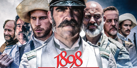 Face, Facial hair, Nose, People, Hairstyle, Moustache, Beard, Soldier, Headgear, Poster,