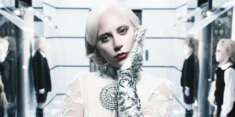 Hairstyle, Eyebrow, Photograph, White, Style, Eyelash, Jaw, Fashion, Beauty, Street fashion,