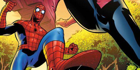 Fictional character, Superhero, Fiction, Hero, Comics, Cartoon, Justice league, Spider-man, Comic book, Illustration,