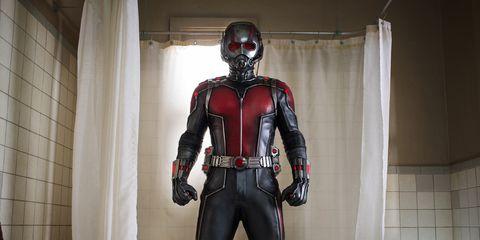 Shoulder, Fictional character, Carmine, Costume, Action figure, Superhero, Tile, Chest, Costume design, Figurine,