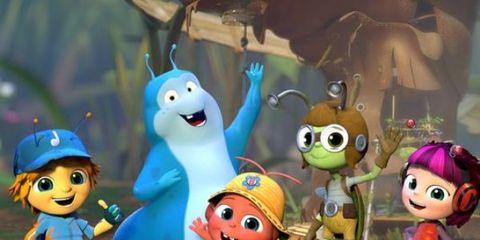 Happy, Animation, Toy, Animated cartoon, Cartoon, Fictional character, Fiction, Doll, Plastic, Snowman,