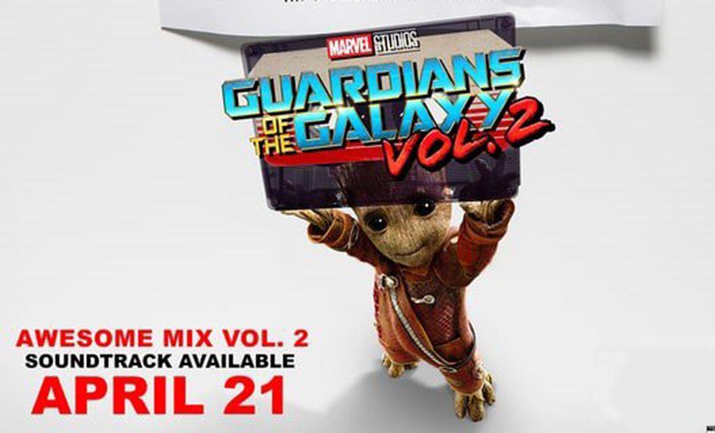 Estos son los temazos del Awesome Mix de 'Guardianes de la Galaxia Vol. 2'