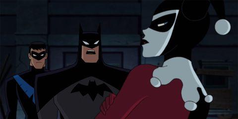 Fictional character, Batman, Animation, Superhero, Cartoon, Animated cartoon, Costume, Justice league, Fiction, Masque,