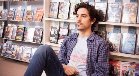 Santi Bayón es Rai, el romántico protagonista del primer largometraje de Pedro .B Abreu.