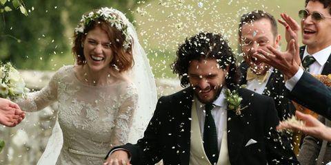 Photograph, Facial expression, Marriage, Wedding dress, Ceremony, Wedding, Event, Bride, Happy, Formal wear,
