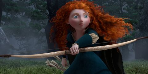 Hairstyle, Red hair, Ringlet, Wig, Toy, Long hair, Fictional character, Doll, Liver, Hair coloring,