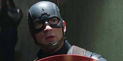 Captain america, Superhero, Fictional character, Eyewear, Helmet, Personal protective equipment, Action figure, Glasses, Avengers,