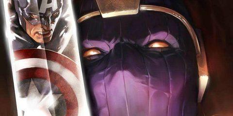 Fictional character, Purple, Superhero, Violet, Hero, Lavender, Masque, Avengers, Mask, Costume,