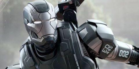 Fictional character, Technology, Toy, Machine, Armour, Robot, Mecha, Silver, Action figure, Carbon,