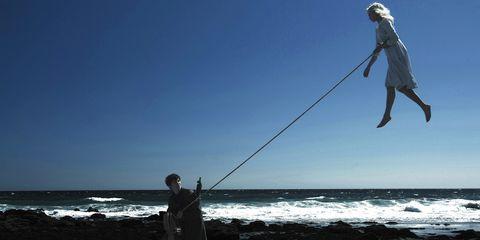 Human, Coastal and oceanic landforms, Fun, Recreation, Shore, Standing, People in nature, Outdoor recreation, Fisherman, Fishing,