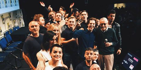 Social group, Team, Crew, Audience, Celebrating,