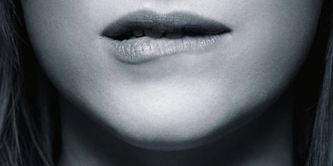Lip, Skin, Style, Beauty, Neck, Black, Eyelash, Monochrome photography, Monochrome, Black-and-white,