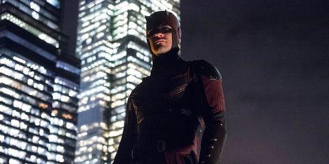 Human, Sleeve, Standing, Fictional character, Superhero, Costume, Leather, Latex clothing, Hero, Latex,