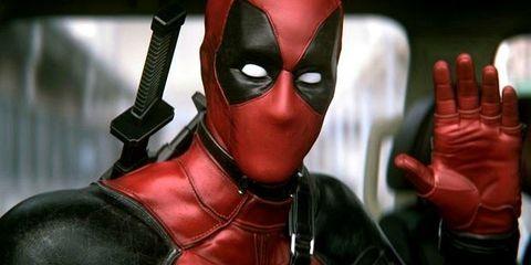 Fictional character, Red, Superhero, Carmine, Hero, Costume, Masque, Gesture, Thumb, Nail,