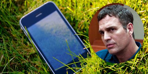 Ear, Grass, People in nature, Mobile device, Portable communications device, Technology, Communication Device, Gadget, Grass family, Display device,