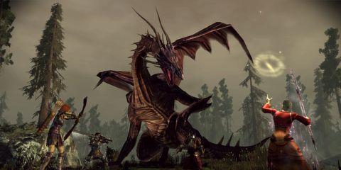 Cg artwork, Extinction, Fictional character, Animation, Fiction, Painting, Dragon, Pc game, Mythology, Dinosaur,