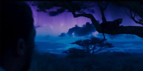Sky, Blue, Nature, Darkness, Tree, Purple, Atmosphere, Cloud, Night, Electric blue,