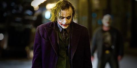 Joker, Supervillain, Fictional character, Fashion, Outerwear, Costume, Street fashion, Scene,