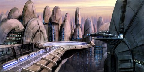Art, Space, Water transportation, Painting,