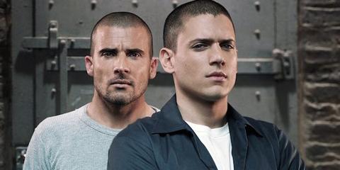los protagonistas de la serie Prison Break