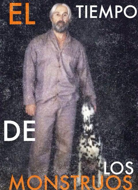 Human, Beard, Formal wear, Facial hair, Poster, White-collar worker, Publication, Photo caption, Moustache, Book,