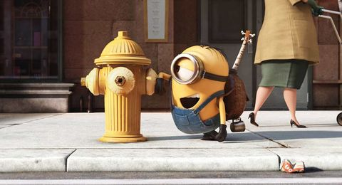 Fire hydrant, Foot, Column, Cylinder, Ankle, Animation,