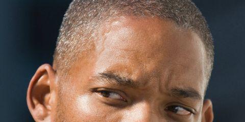 Face, Head, Ear, Nose, Mouth, Lip, Cheek, Facial hair, Hairstyle, Eye,