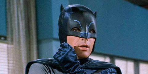 Batman, Fictional character, Superhero, Outerwear, Nite owl, Suit actor, Costume, Masque, Glasses,
