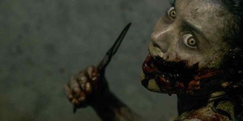 Zombie, Head, Fiction, Pc game, Demon, Fictional character, Mouth, Flesh, Orc, Screenshot,