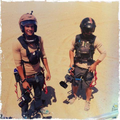 Helmet, Personal protective equipment, Headgear, Bag, Luggage and bags, Adventure, Aeolian landform, Baggage, Outdoor shoe, Ballistic vest,