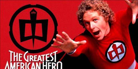 Font, Logo, Fictional character, Symbol, Pleased, Jheri curl, Costume, Graphics, Photo caption, Hero,