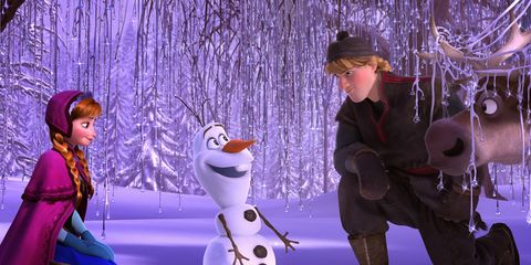 Snow, Purple, Winter, Animation,