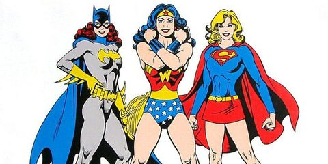 Superhero, Hero, Fictional character, Cartoon, Justice league, Costume design, Wonder Woman, Costume, Batman, Illustration,