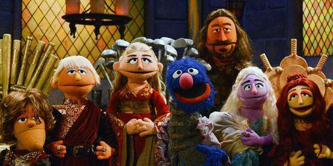 Toy, Puppet, Animation, Beard, Animated cartoon, Humour, Plush,