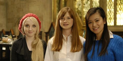 If you were Harry Potter, who will you marry: Luna or Cho ...  |Luna Lovegood And Cho Chang