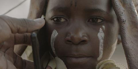 Face, Child, Facial expression, Skin, Nose, Cheek, Head, Eyebrow, Lip, Eye,