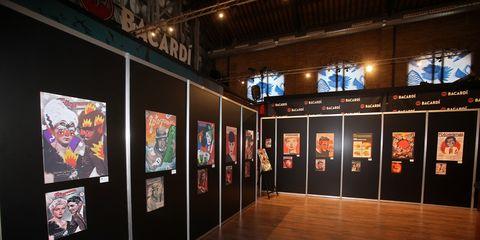 Art gallery, Art exhibition, Exhibition, Tourist attraction, Art, Museum, Building, Event, Visual arts, Vernissage,