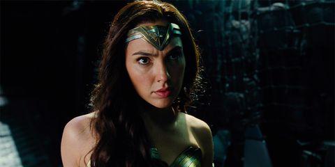 Beauty, Headpiece, Wonder Woman, Fictional character, Cg artwork, Eye, Justice league, Cool, Black hair, Long hair,