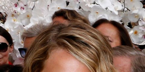 Hair, Head, Nose, Ear, Mouth, Hairstyle, Fashion accessory, Facial expression, Eyelash, Style,