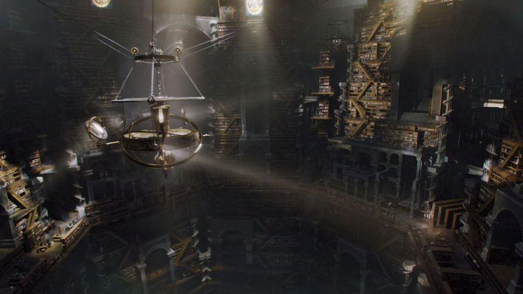 La conexión entre la cabecera de 'Juego de Tronos' y la biblioteca de la Ciudadela