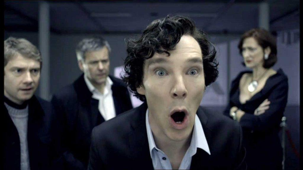 Los GIFs de Sherlock que necesitas para cualquier situación