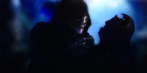 Darth vader, Darkness, Supervillain, Fictional character, Mask, Demon, Costume, Fiction, Supernatural creature,