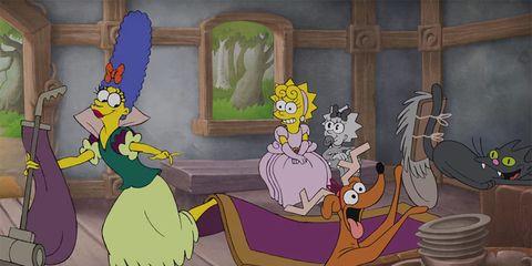 Vertebrate, Animation, Animated cartoon, Lavender, Cartoon, Fictional character, Illustration, Fiction, Graphics, Drawing,
